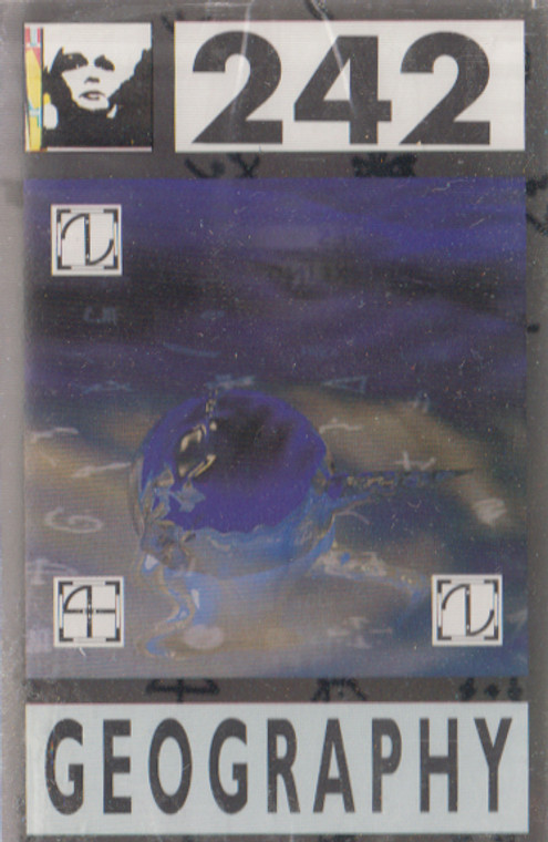 Front 242: Geography -14317 Cassette Tape