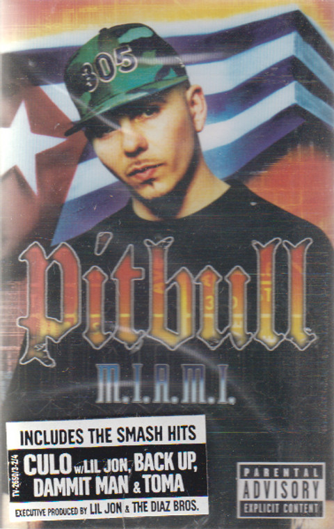 Pitbull: M.I.A.M.I. Money is a Major Issue Cassette Tape