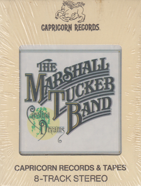 The Marshall Tucker Band: Carolina Dreams  8 Track Tape