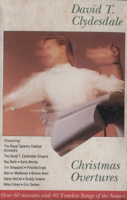 David T. Clydesdale: Christmas Overtures - Audio Cassette Tape