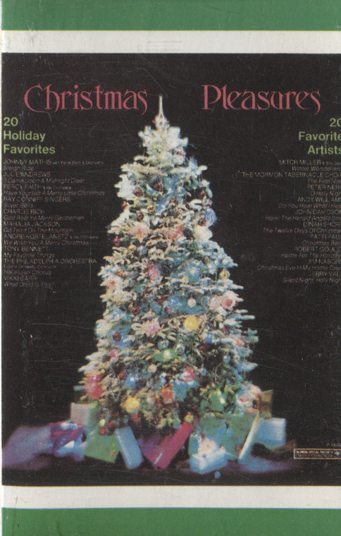 Various Artists: Christmas Pleasures - Audio Cassette Tape