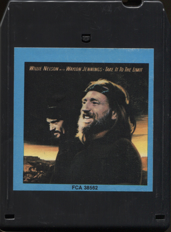 Willie Nelson & Waylon Jennings: Take It to the Limit - 8 Track Tape