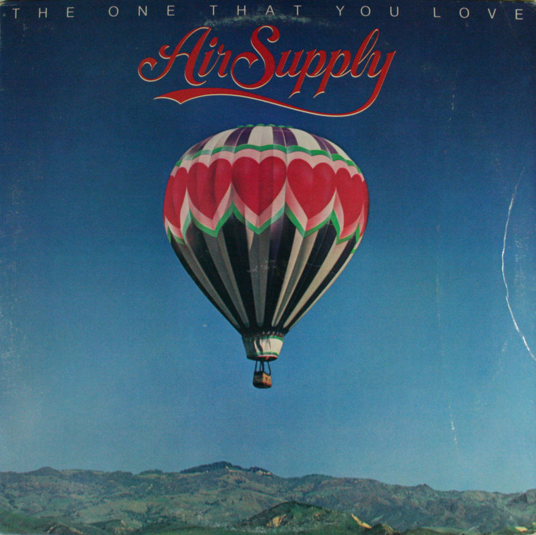 Air Supply: The One That You Love - Vintage LP Vinyl Record Album