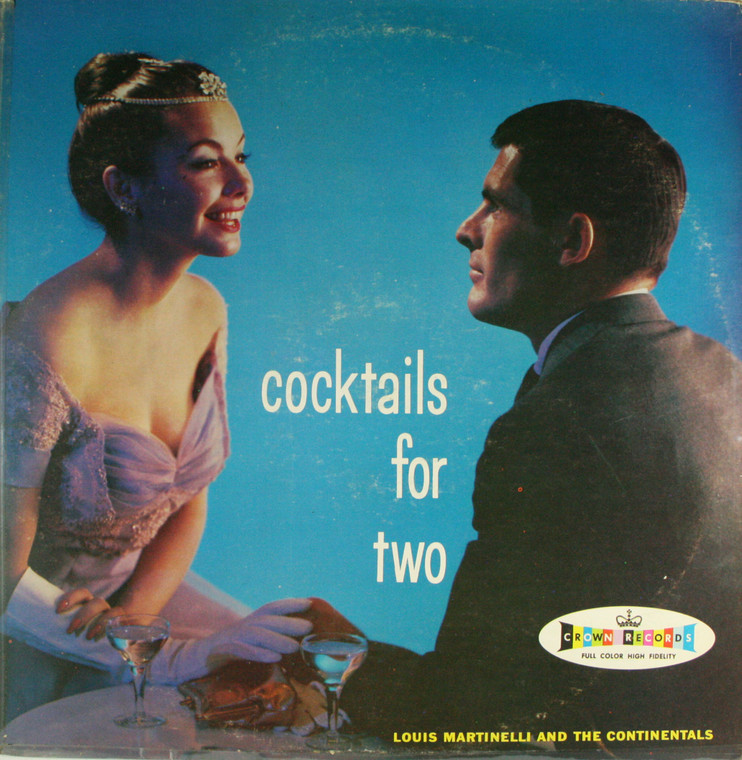 Louis Martinelli & the Continentals: Cocktails for Two - LP Vinyl Record Album
