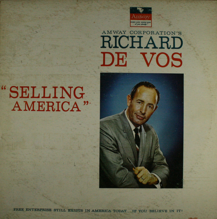 Richard De Vos: Amway, Selling America - LP Vinyl Record Album