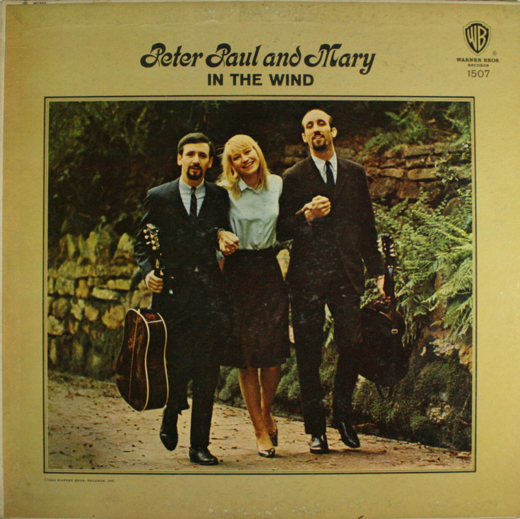 Peter, Paul and Mary: In the Wind - LP Vinyl Record Album