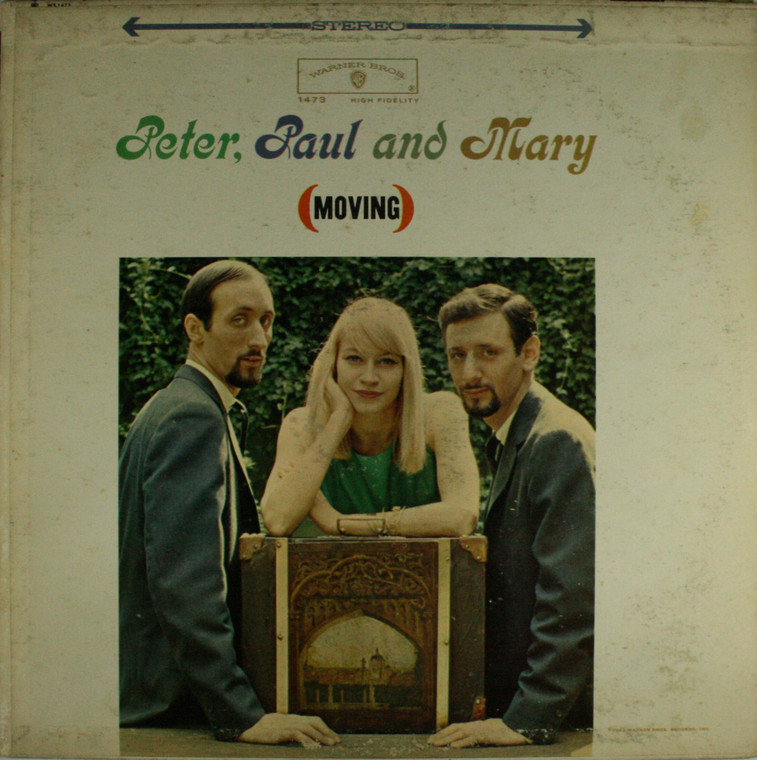 Peter, Paul and Mary: Moving - LP Vinyl Record Album