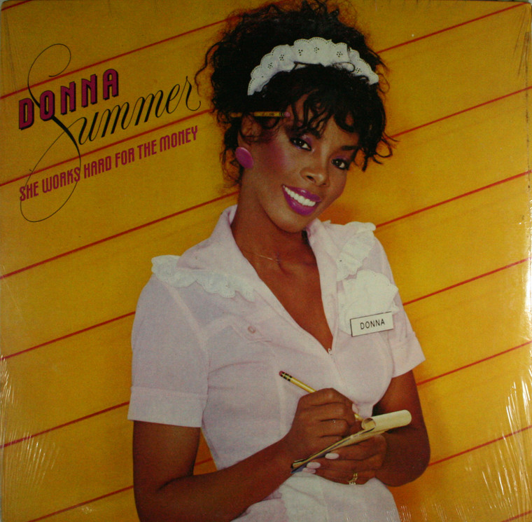 Donna Summer: She Works Hard for the Money - Still Sealed LP Vinyl Record Album