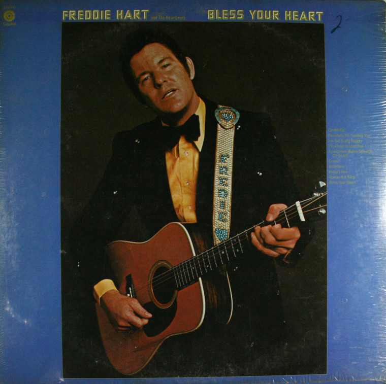 Freddie Hart and the Heartbeats: Bless Your Heart - Still Sealed LP Vinyl Record Album