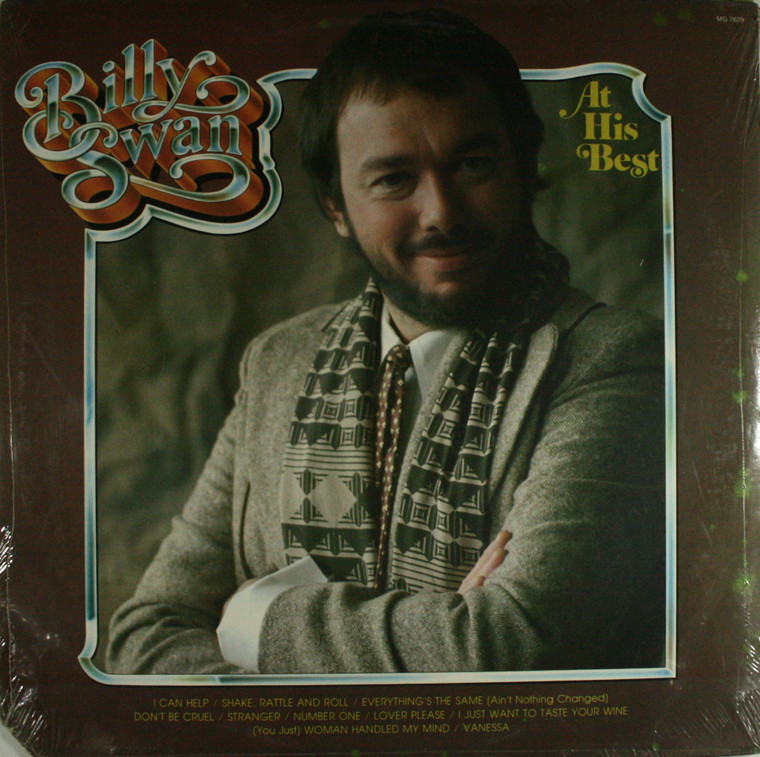 Billy Swan: At His Best - Still Sealed LP Vinyl Record Album