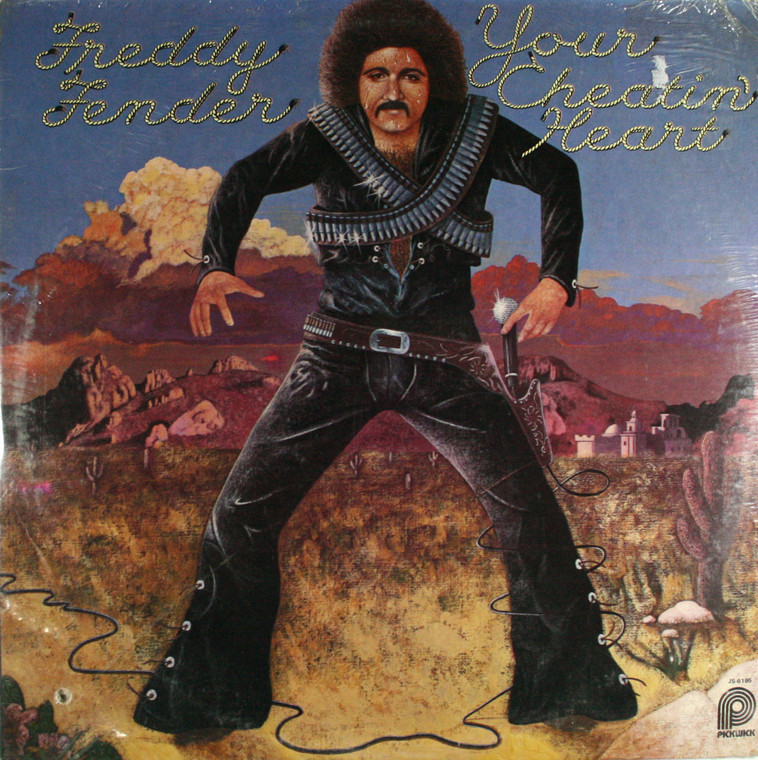 Freddy Fender: Your Cheatin' Heart - Still Sealed LP Vinyl Record Album