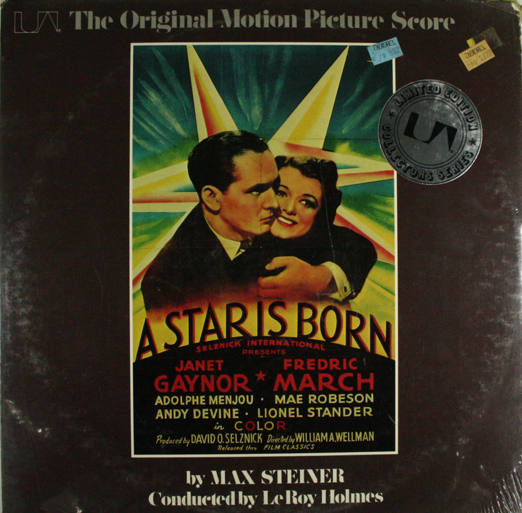 Max Steiner: A Star is Born, Original Motion Picture Score - Still Sealed LP Vinyl Record Album