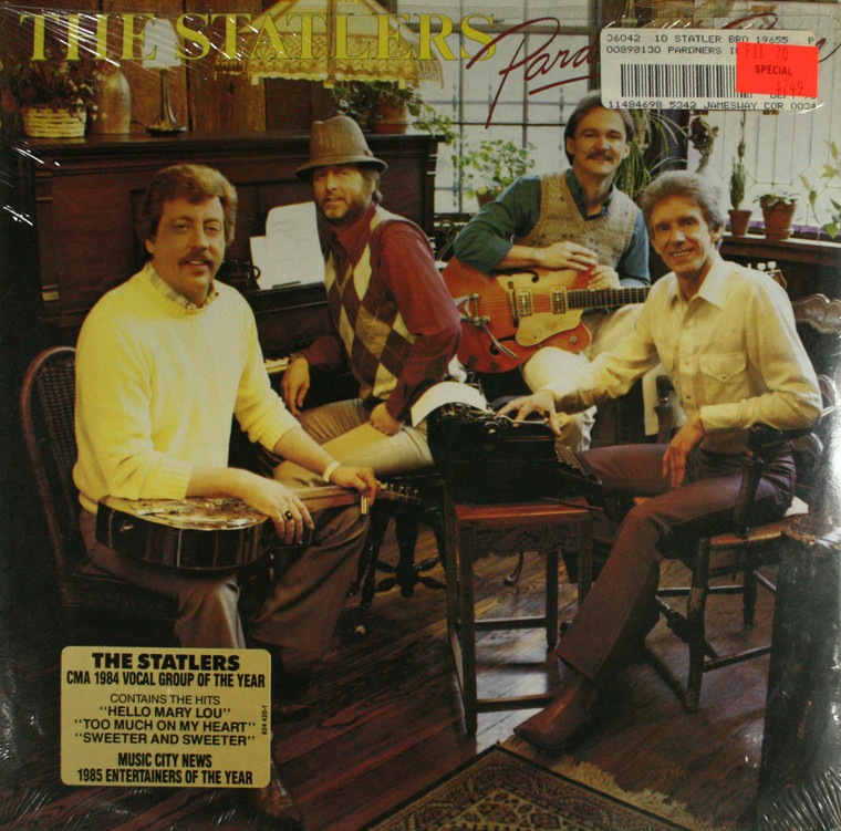 The Statler Brothers: Pardners in Rhyme - Still Sealed LP Vinyl Record Album