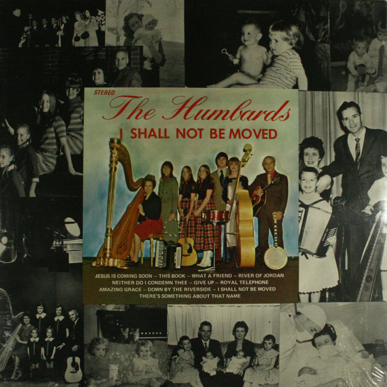 The Humbards: I Shall Not Be Moved - Still Sealed LP Vinyl Record Album