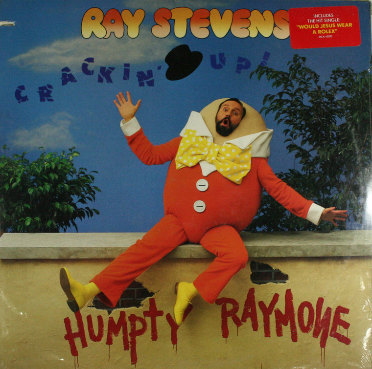 Ray Stevens: Crackin' Up! - Still Sealed LP Vinyl Record Album