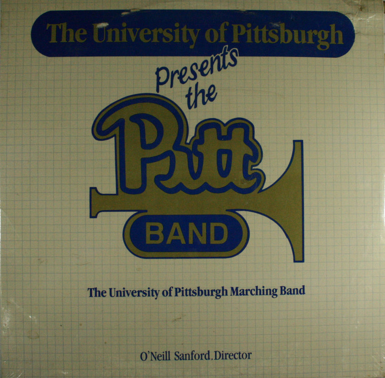 The University of Pittsburgh Marching Band: The Pitt Band - Still Sealed LP Vinyl Record Album