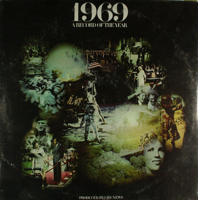 1969 A Record of the Year Produced by CBS News - Still Sealed LP Vinyl Record Album