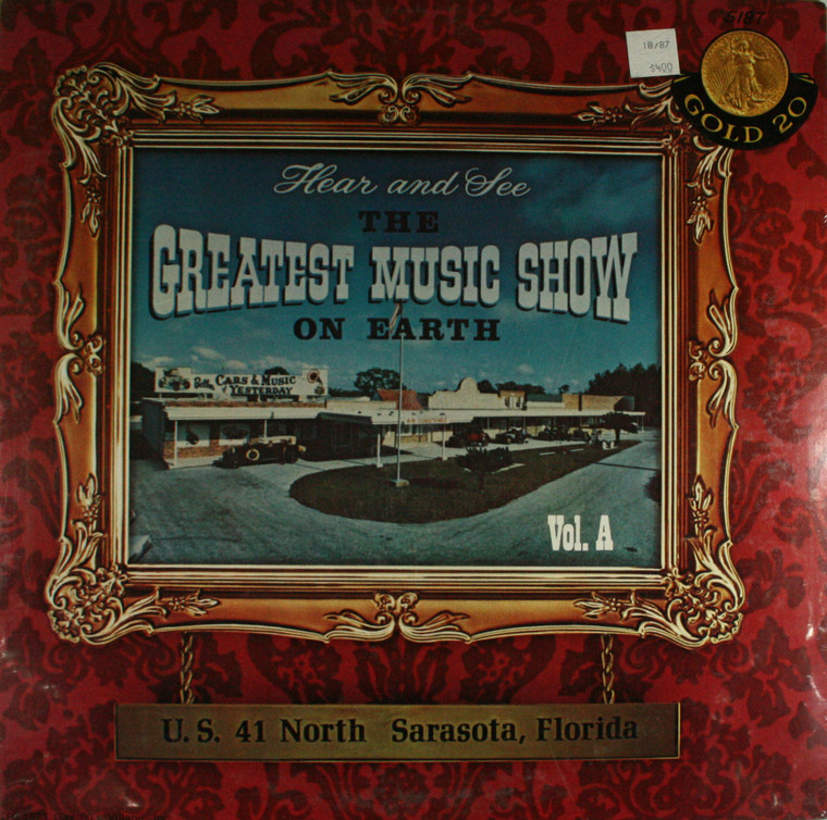 Various Artists: Hear and See the Greatest Music Show on Earth, Volume A - Still Sealed LP Vinyl Record Album