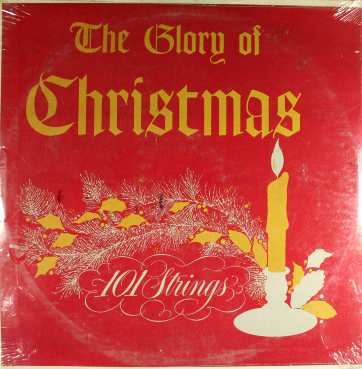 101 Strings: The Glory of Christmas - Self-Titled Still Sealed LP Vinyl Record Album