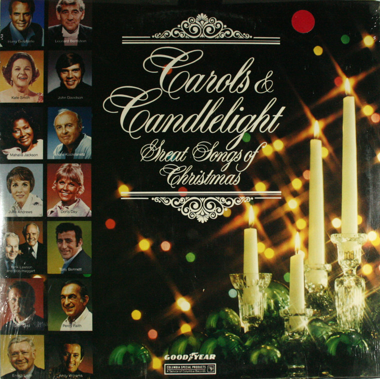 Various Artists: Carols & Candlelight, Great Songs of Christmas - Still Sealed LP Vinyl Record Album