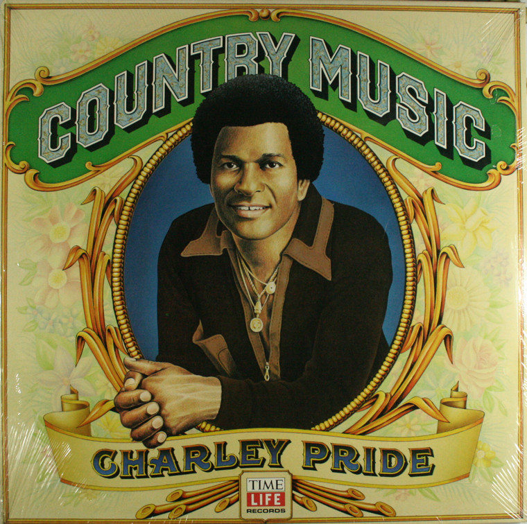Charley Pride: Country Music - Still Sealed LP Vinyl Record Album