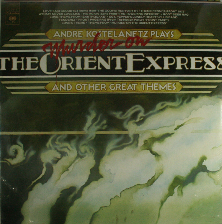 Andre Kostelanetz: Murder on the Orient Express and Other Great Themes - Still Sealed LP Vinyl Record Album