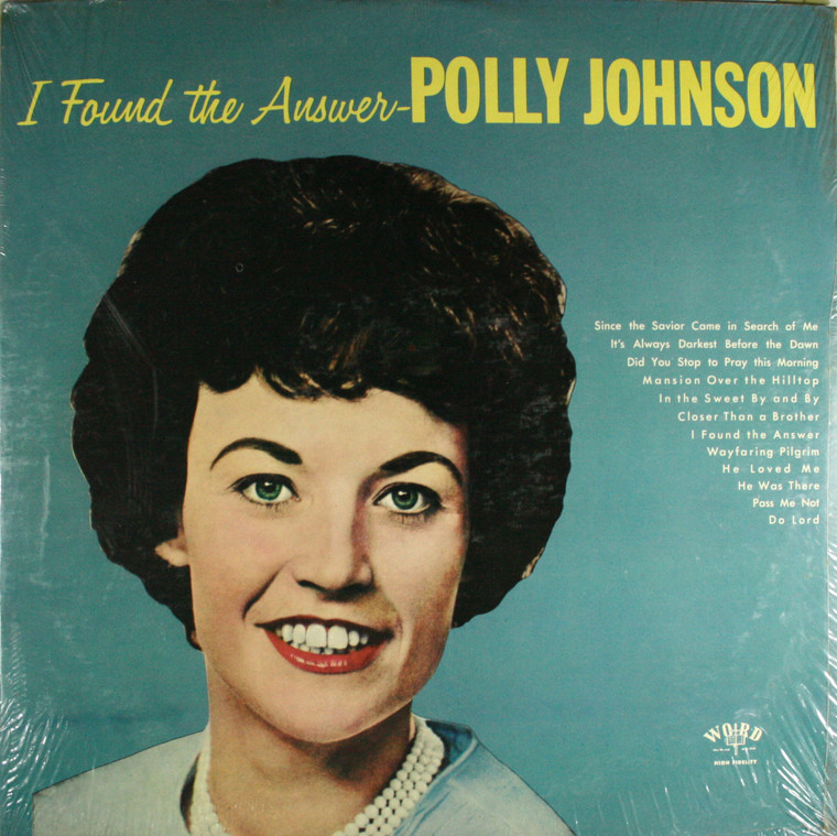 Polly Johnson: I Found the Answer - Still Sealed LP Vinyl Record Album