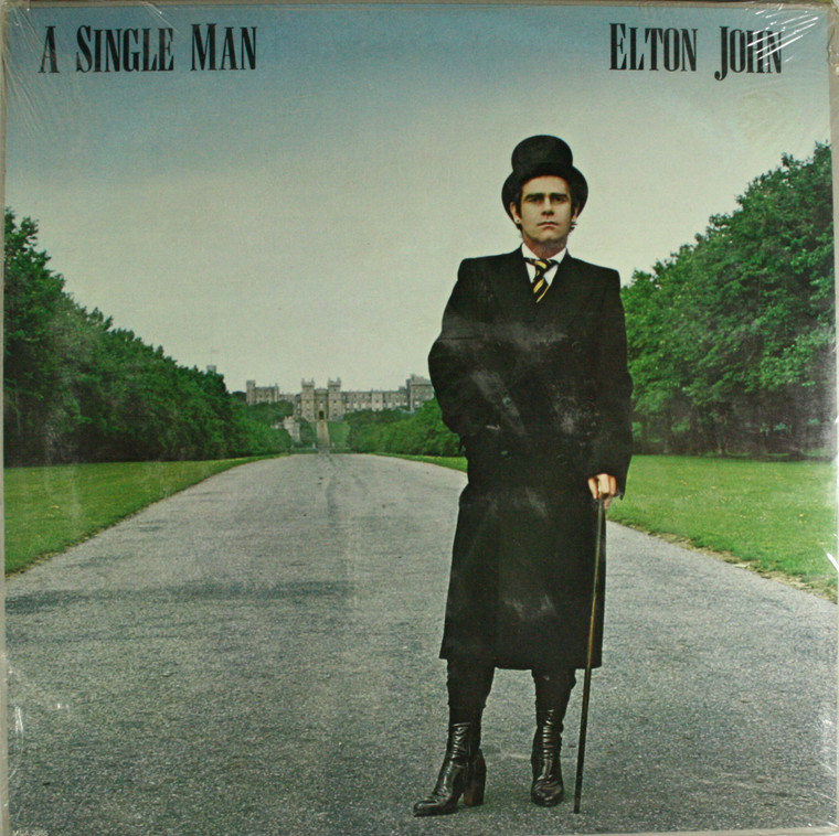 Elton John: A Single Man - Still Sealed LP Vinyl Record Album