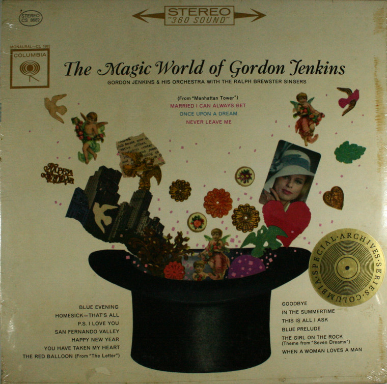 Gordon Jenkins & Orchestra & Ralph Brewster Singers: The Magic World of Gordon Jenkins - Still Sealed LP Vinyl Record Album