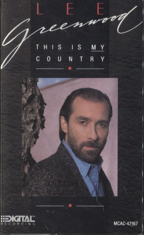 Lee Greenwood: This is My Country - Audio Cassette Tape