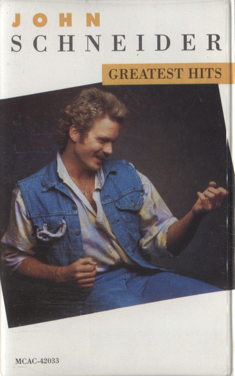 John Schneider: Greatest Hits - Audio Cassette Tape