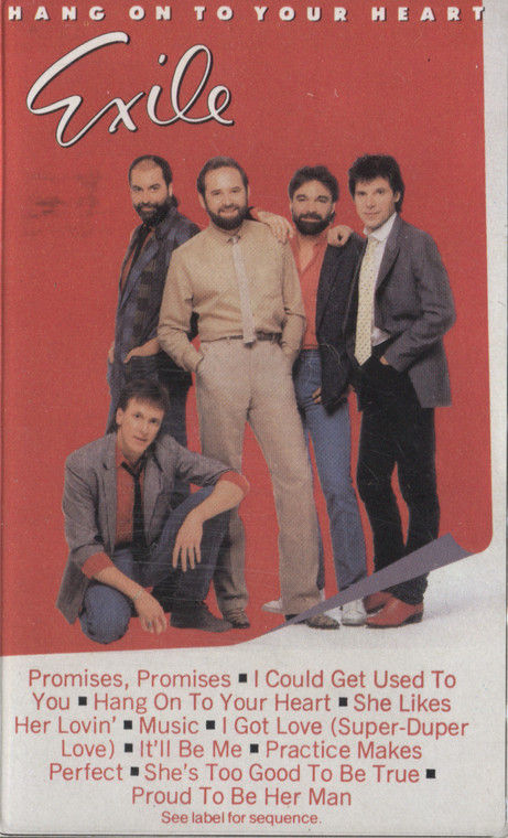 Exile: Hang on to Your Heart - Audio Cassette Tape
