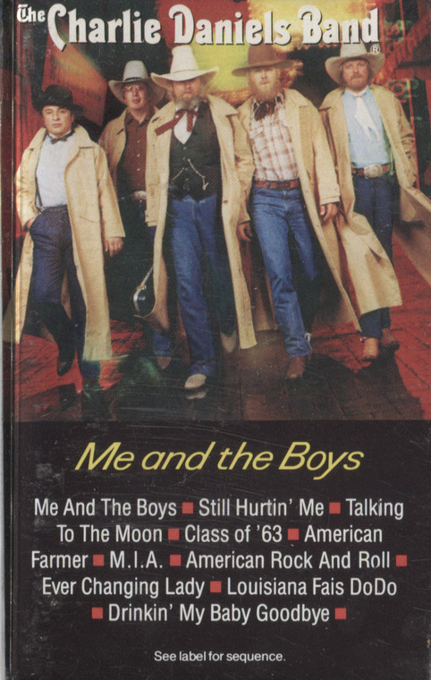The Charlie Daniels Band: Me and the Boys - Audio Cassette Tape