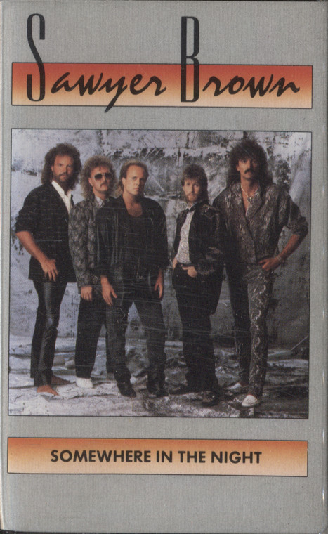 Sawyer Brown: Somewhere in the Night - Vintage Audio Cassette Tape