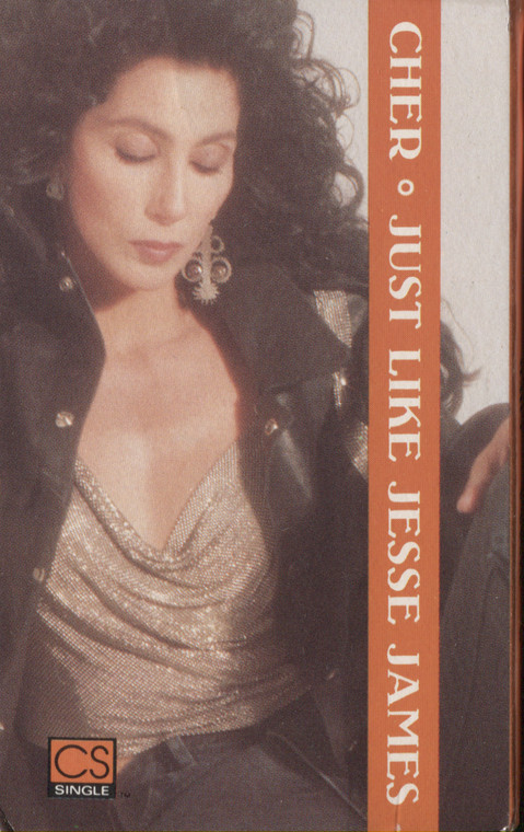 Cher: Just Like Jesse James / Starting Over - Audio Cassette Tape Single