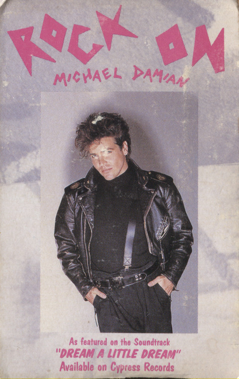 Michael Damian: Rock On / Where is She? - Audio Cassette Tape Single