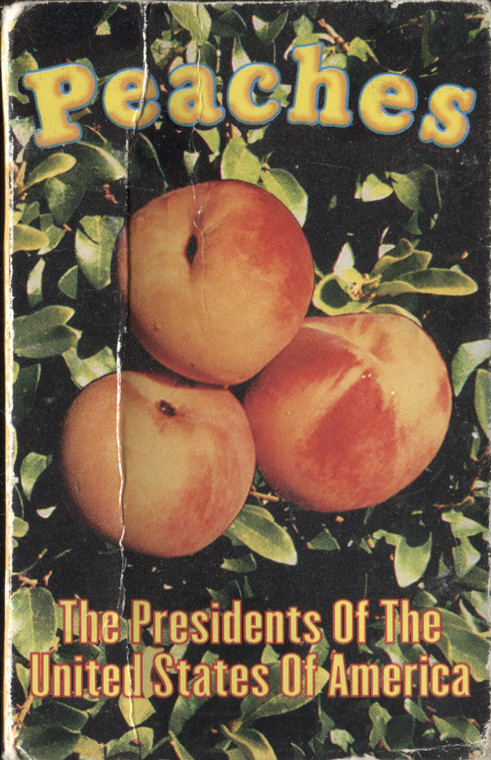 The Presidents of the United States of America: Peaches / Candy Cigarette - Audio Cassette Tape Single