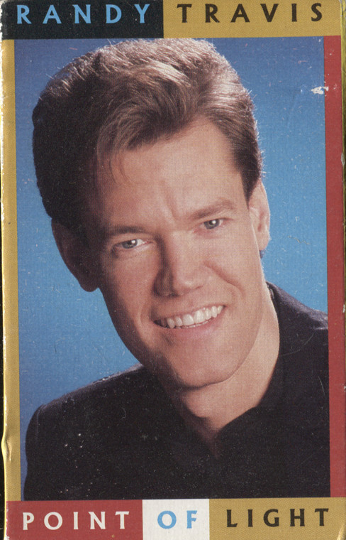 Randy Travis: Point of Light / Waiting on the Light to Change - Audio Cassette Tape Single