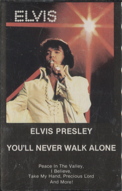 Elvis Presley: You'll Never Walk Alone - Sealed Audio Cassette Tape