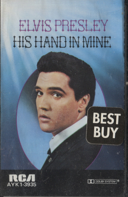 Elvis Presley: His Hand in Mine - Sealed Audio Cassette Tape