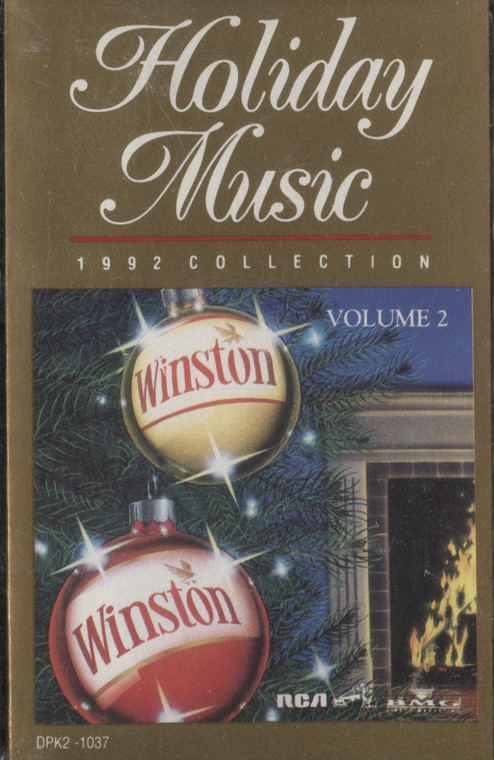 Various Artists: Holiday Music, Volume 2 - Winston Collector Christmas Sealed Audio Cassette Tape