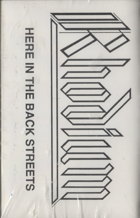 Rhodium: Here in the Back Streets - Sealed Audio Cassette Tape