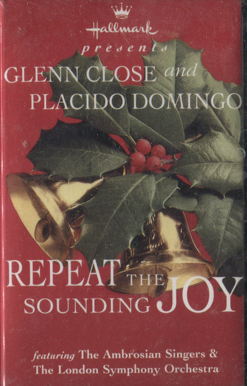 Various Artists: Repeat the Sounding Joy - 1995 Hallmark Christmas Sealed Audio Cassette Tape