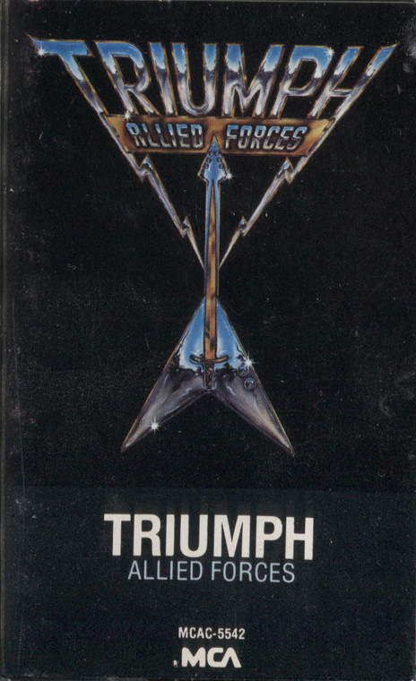Triumph: Allied Forces - Audio Cassette Tape