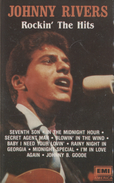 Johnny Rivers: Rockin' the Hits - Audio Cassette Tape