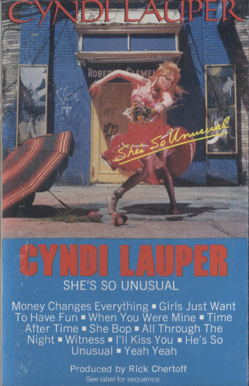 Cyndi Lauper: She's So Unusual - Audio Cassette Tape