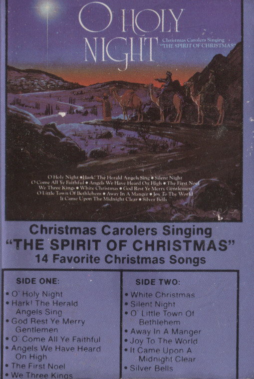 Various Artists: O' Holy Night - Christmas Audio Cassette Tape