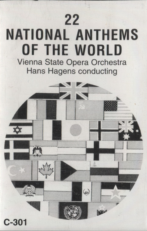 Vienna State Opera Orchestra: 22 National Anthems of the World - Audio Cassette Tape