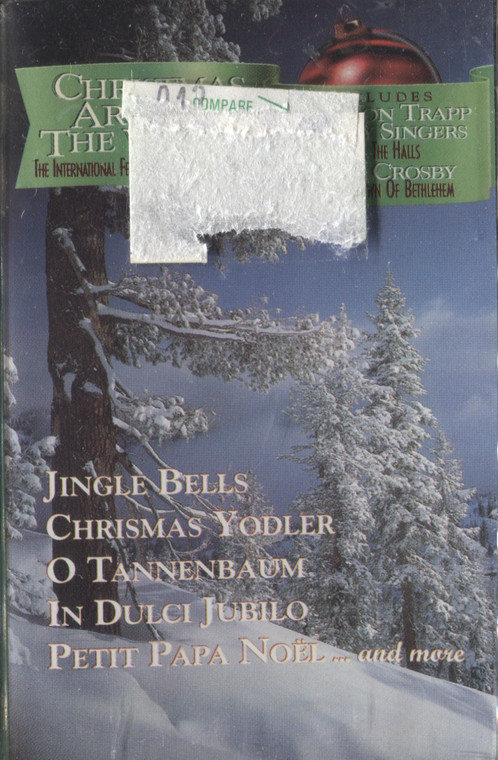 Various Artists: Christmas Around the World - Sealed Audio Cassette Tape