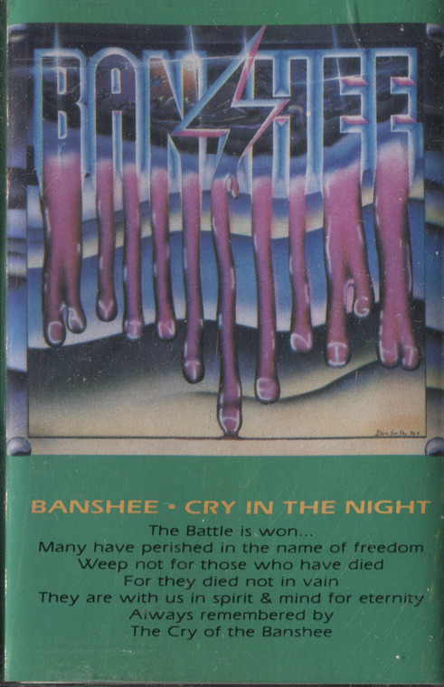 Banshee: Cry in the Night - Audio Cassette Tape